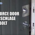 Reinforce Door with Schlage Deadbolt Installation | Mr. Locksmith Blog