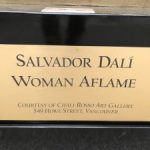 Salvador Dali's Woman Aflame Sculpture | Mr. Locksmith
